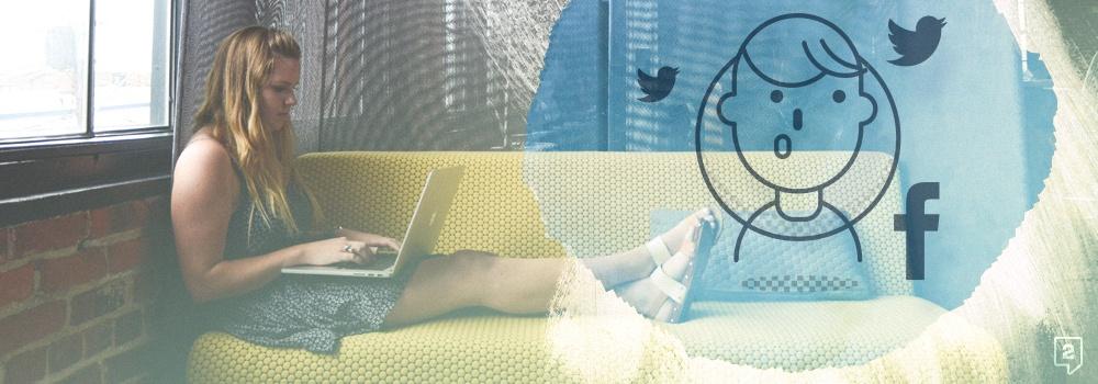 interacción en redes sociales
