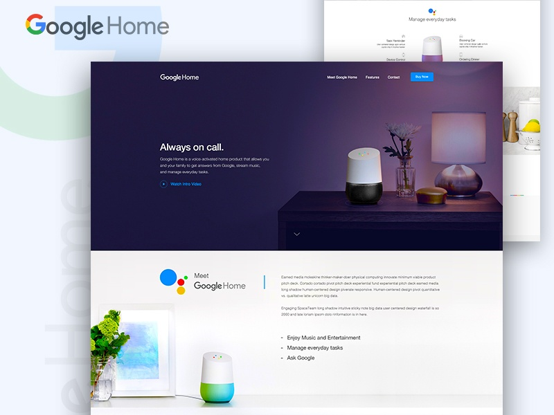 Google Home Landing Page Concept by Raaz Das.jpg
